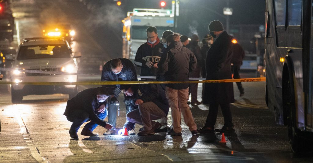 Police Officer Is Shot While Chasing Armed Man in the Bronx
