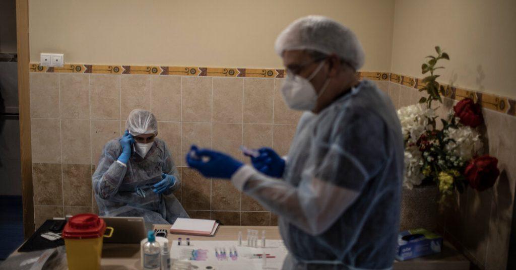 E.U. Vaccine Shortages Snowball Into a Crisis