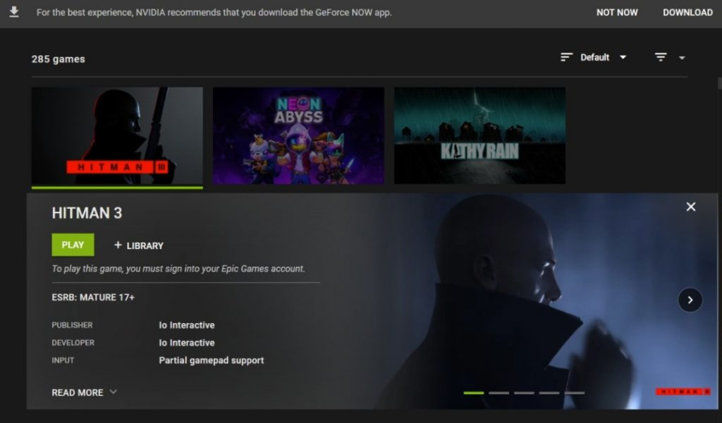 GeForce Now game streaming starts to roll out Chrome support