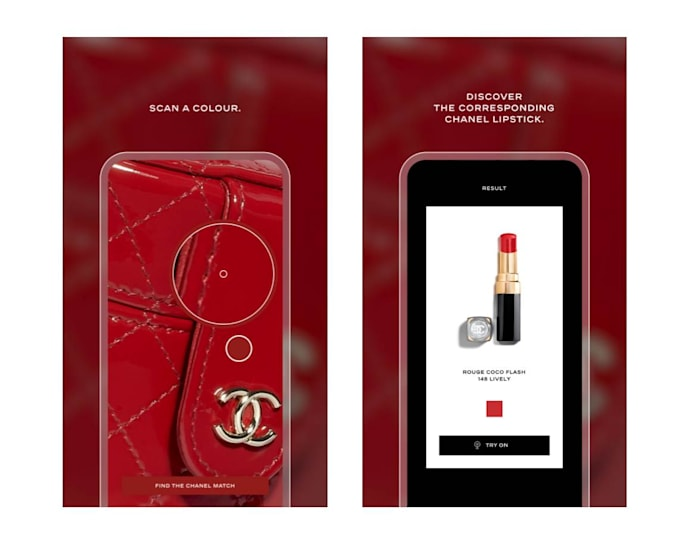 Chanel lip scanner app
