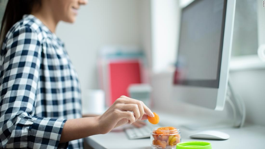 Healthy snack ideas for WFH