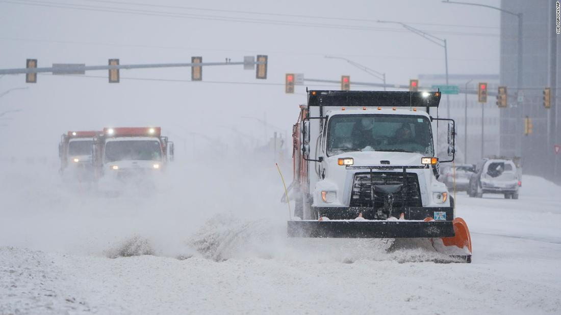 Millions without power as winter weather blasts the US