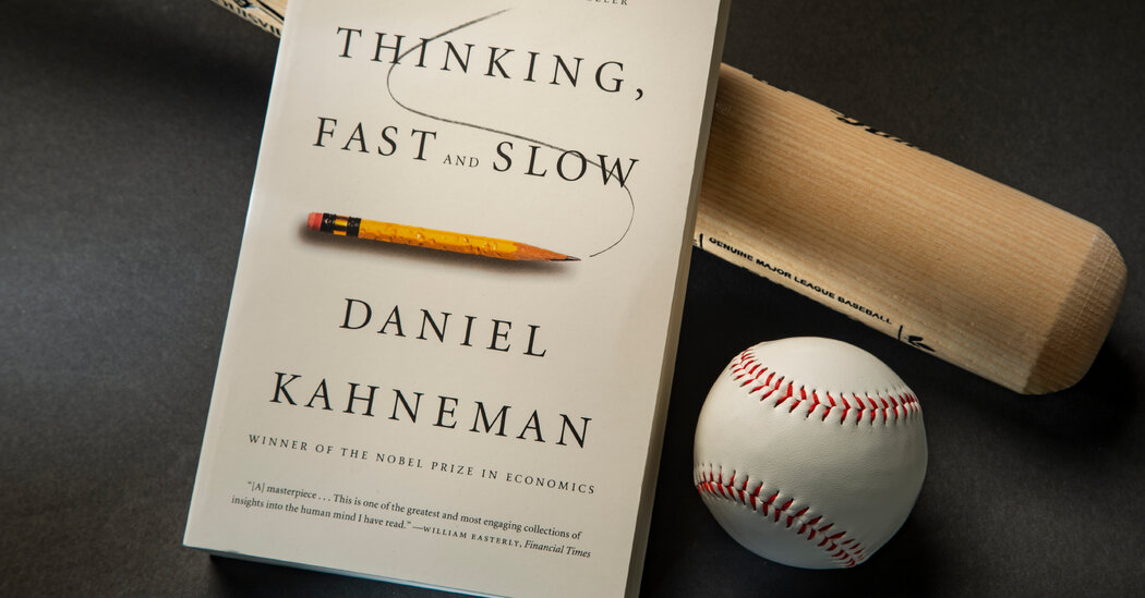 Why Baseball Is Obsessed With the Book 'Thinking, Fast and Slow'