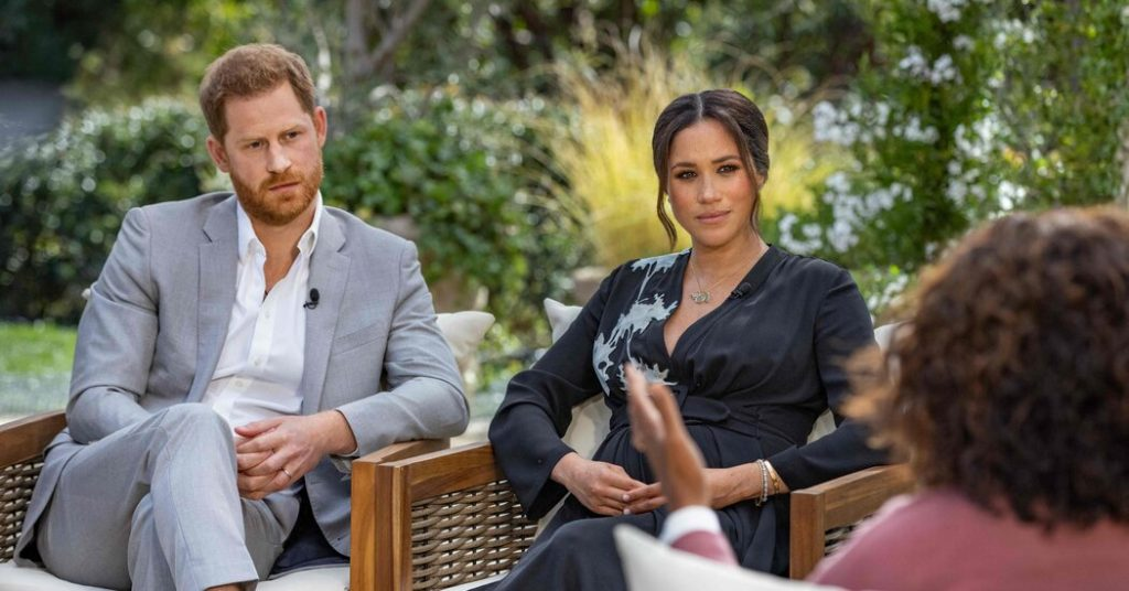 Britain Braces for Fallout as Meghan and Harry's Interview Airs