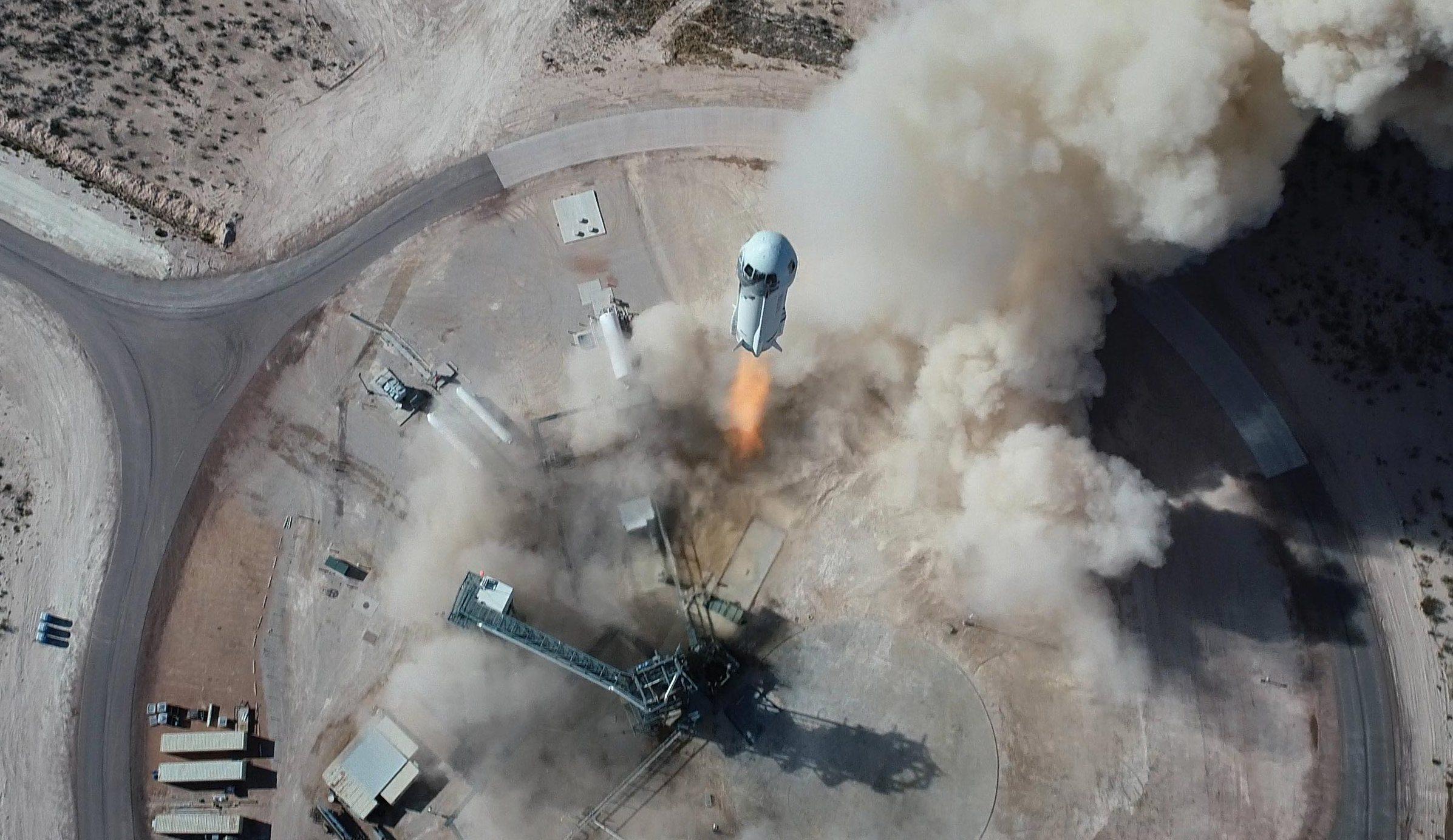 Blue Origin will give NASA a spin in lunar gravity