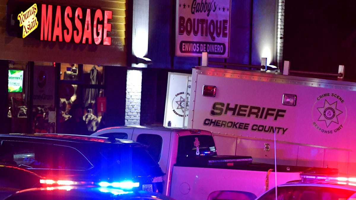 Gunman kills eight people at three Atlanta-area massage parlors