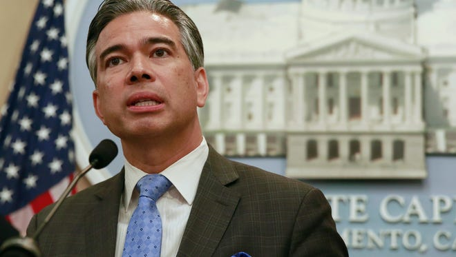 Rep. Rob Bonta, D-Oakland, on Tuesday discussed his proposed measure to make it easier for people with marijuana beliefs to delete or downsize their records.