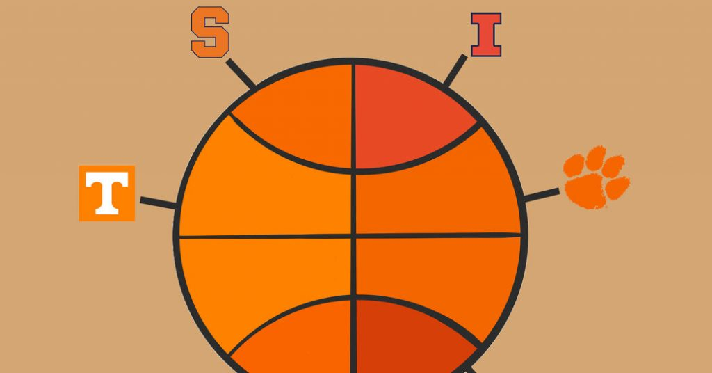 At This N.C.A.A. Tournament, Orange Is the New Bracket