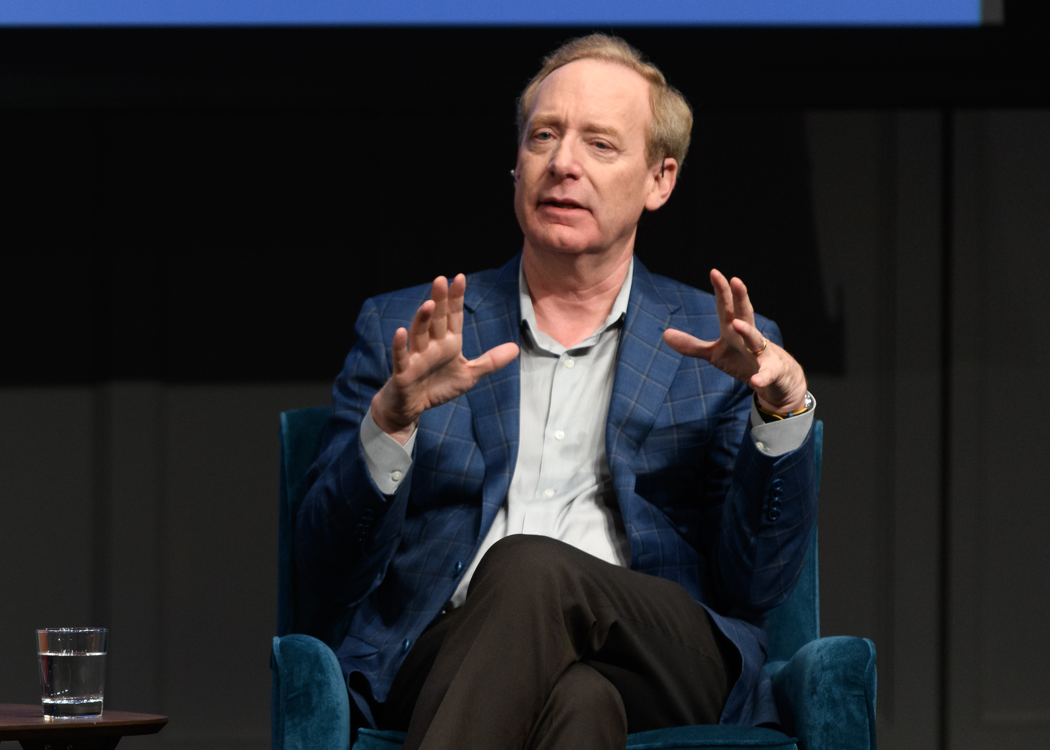 Microsoft's Brad Smith goes after Google again over web content and digital advertising revenue