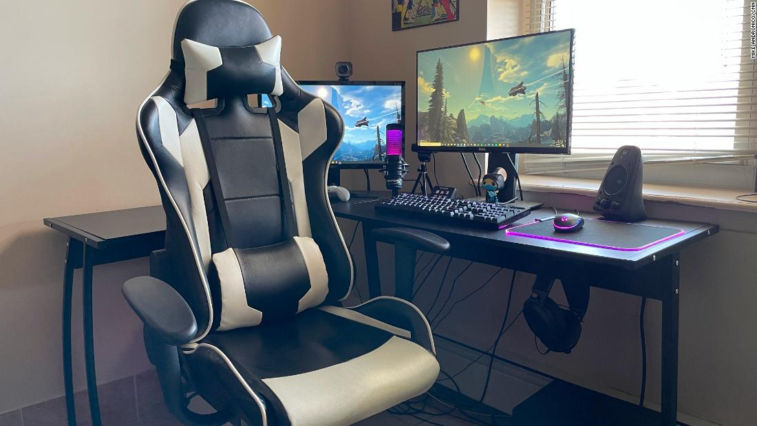 This cheap gaming chair has become my ultimate WFH accessory