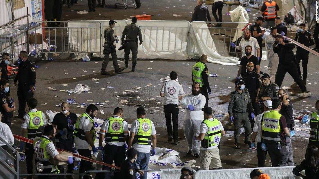 Israel religious festival crush kills 44