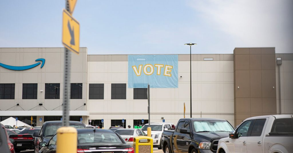 Amazon Union Vote Count Pauses for Night: Live Updates