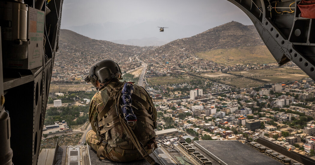 Day 1 of the End of the U.S. War in Afghanistan