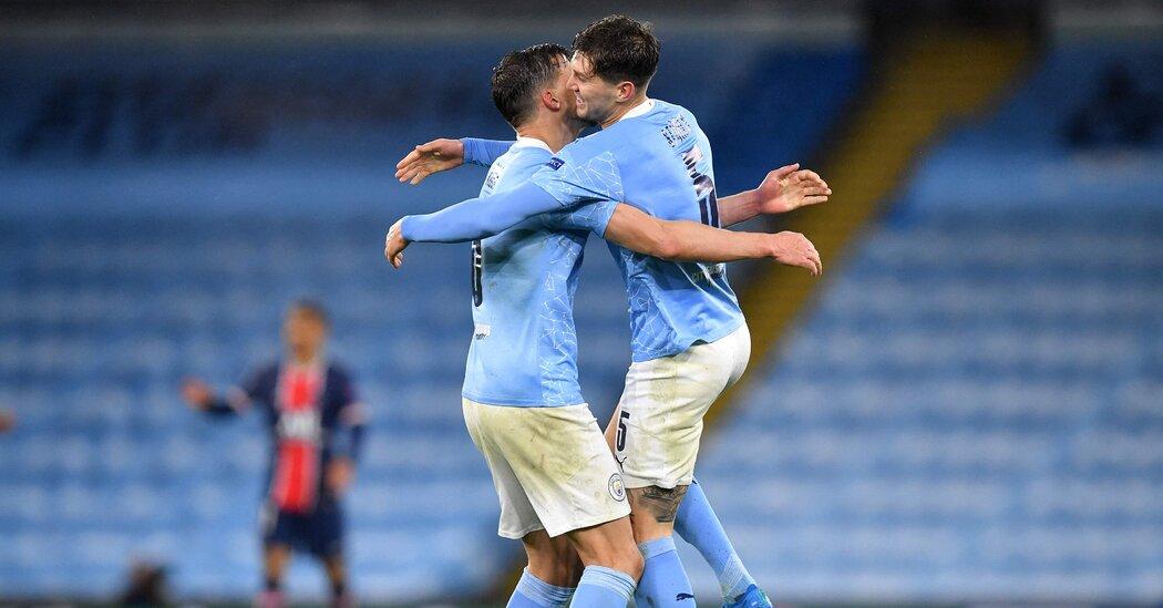Manchester City Beats PSG, Advancing to Champions League Final