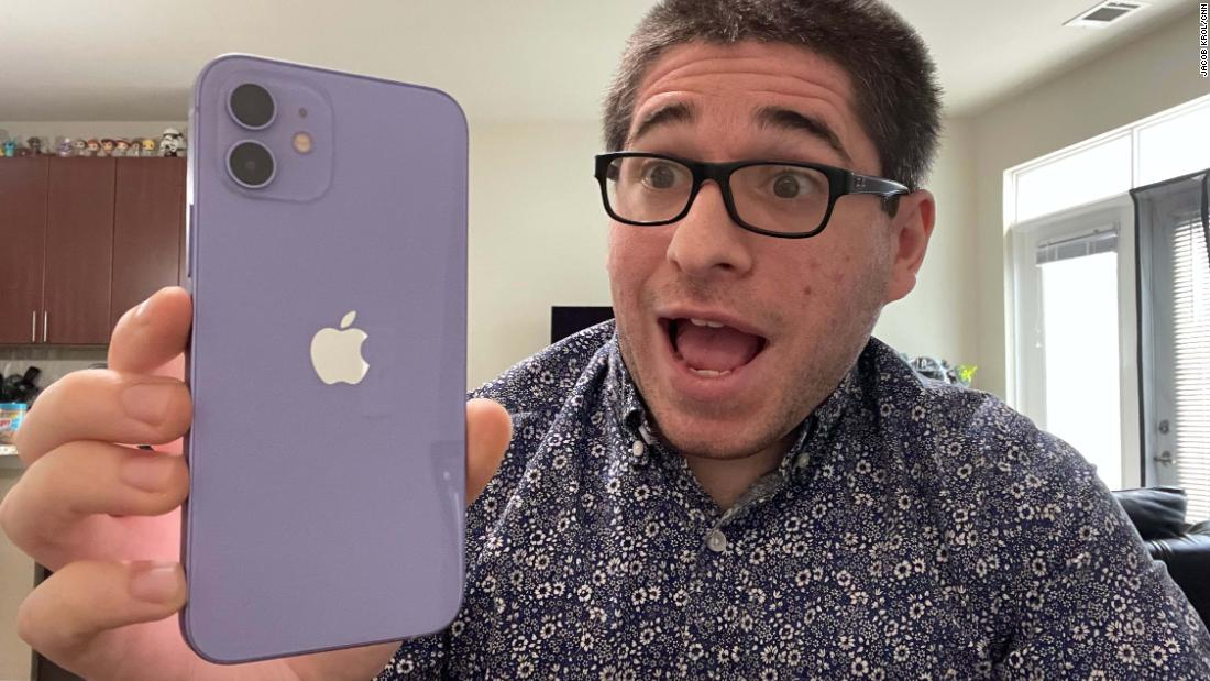 Purple iPhone 12 first look