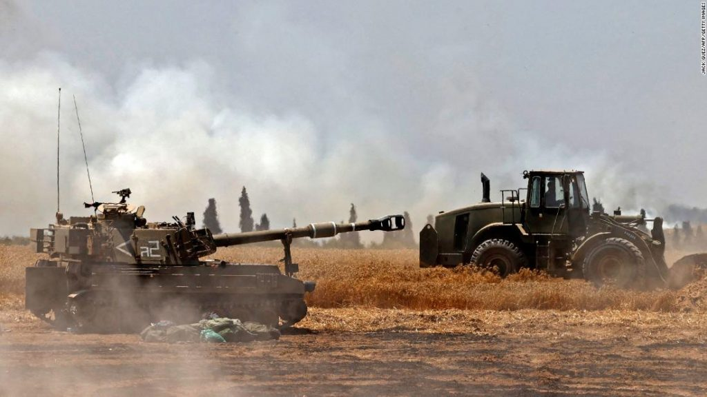 Israeli-Palestinian conflict: Israel launches more strikes on Gaza as fears of a ground invasion grow