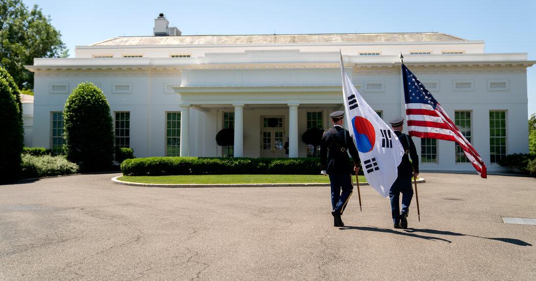 Biden Meets With South Korea's President