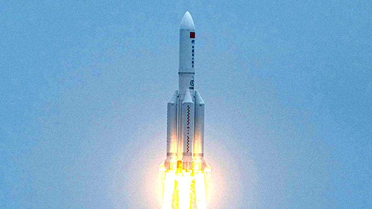 Chinese rocket Long March 5B hurtling back to Earth may hit Saturday