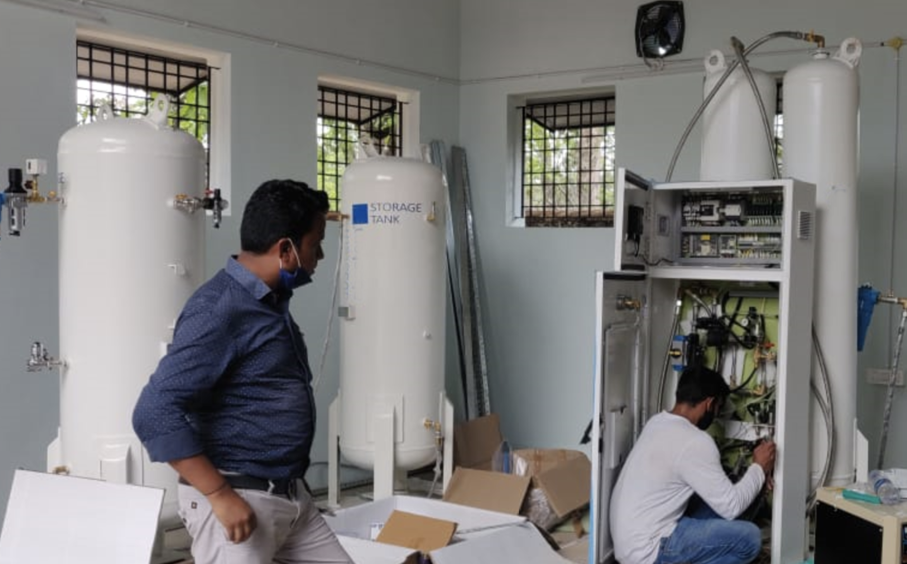 How the Gates Foundation and Seattle nonprofit PATH are helping get oxygen to India
