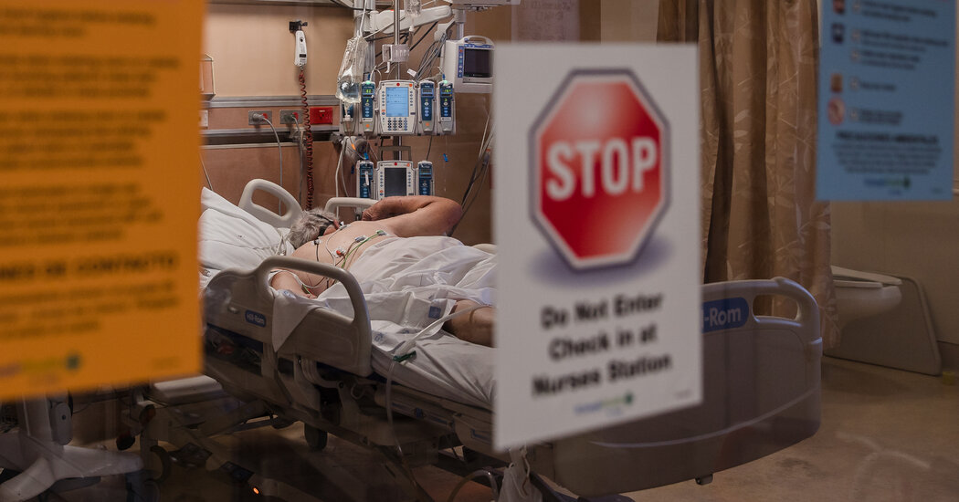 Opinion | Covid Patients Should Be Allowed Visitors in Hospitals