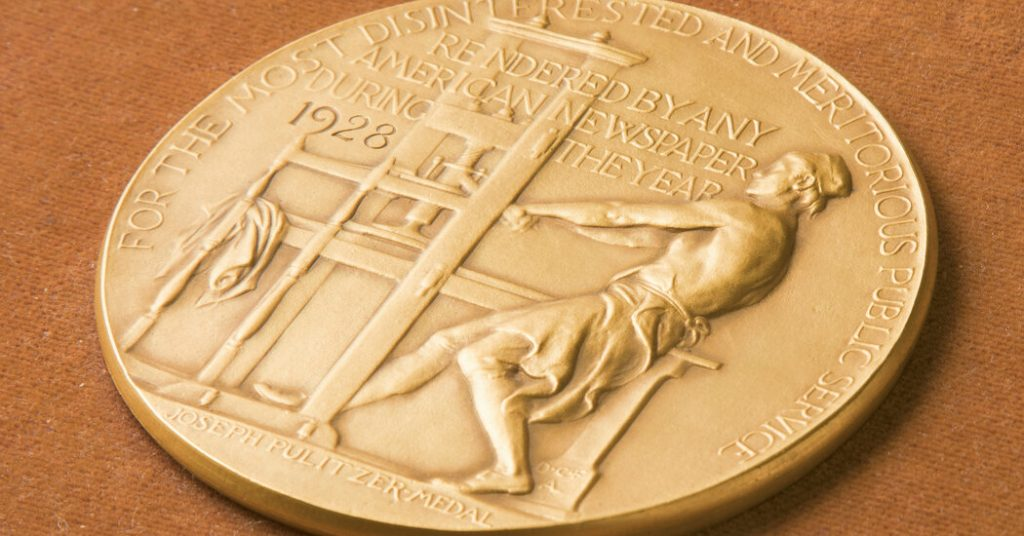 2021 Pulitzer Prize Winners - The New York Times