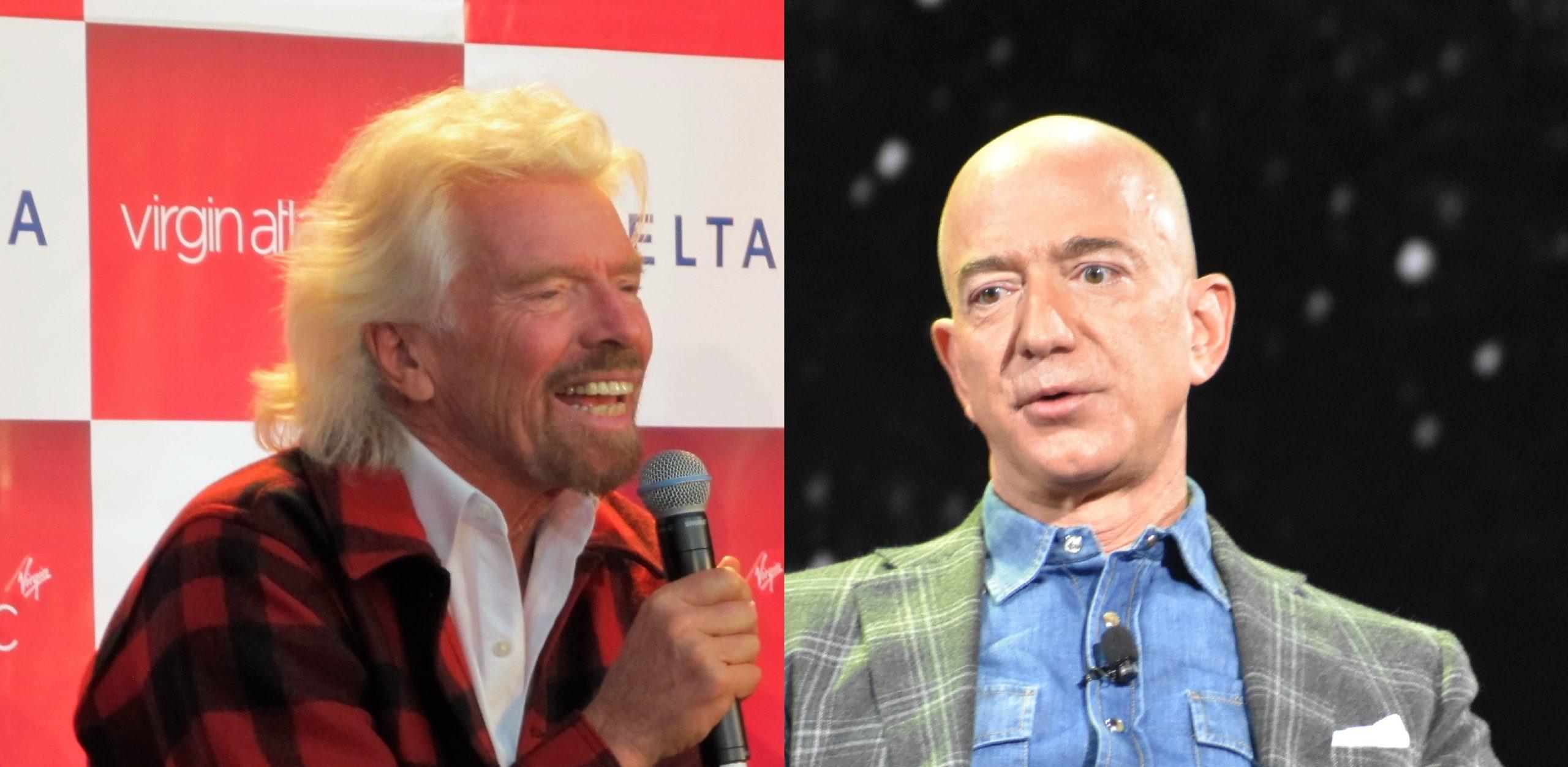 Virgin Galactic downplays talk about Branson vs. Bezos space race