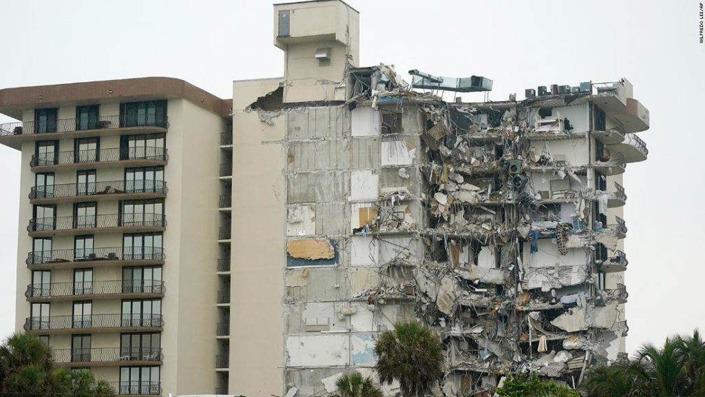 At least 4 dead after Surfside building collapse, county mayor says