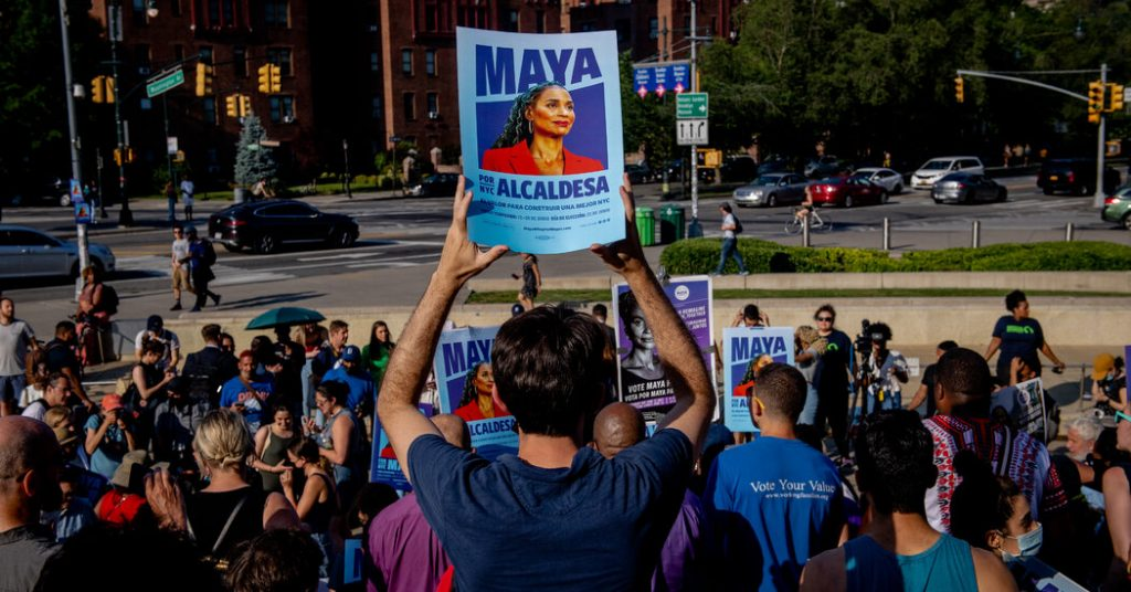 Adams Leads in N.Y.C. Mayoral Primary, but Ranked-Choice Awaits