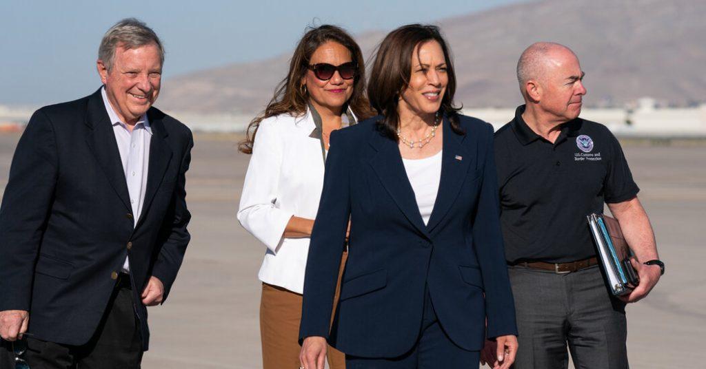 Vice President Harris Visits U.S.-Mexican Border