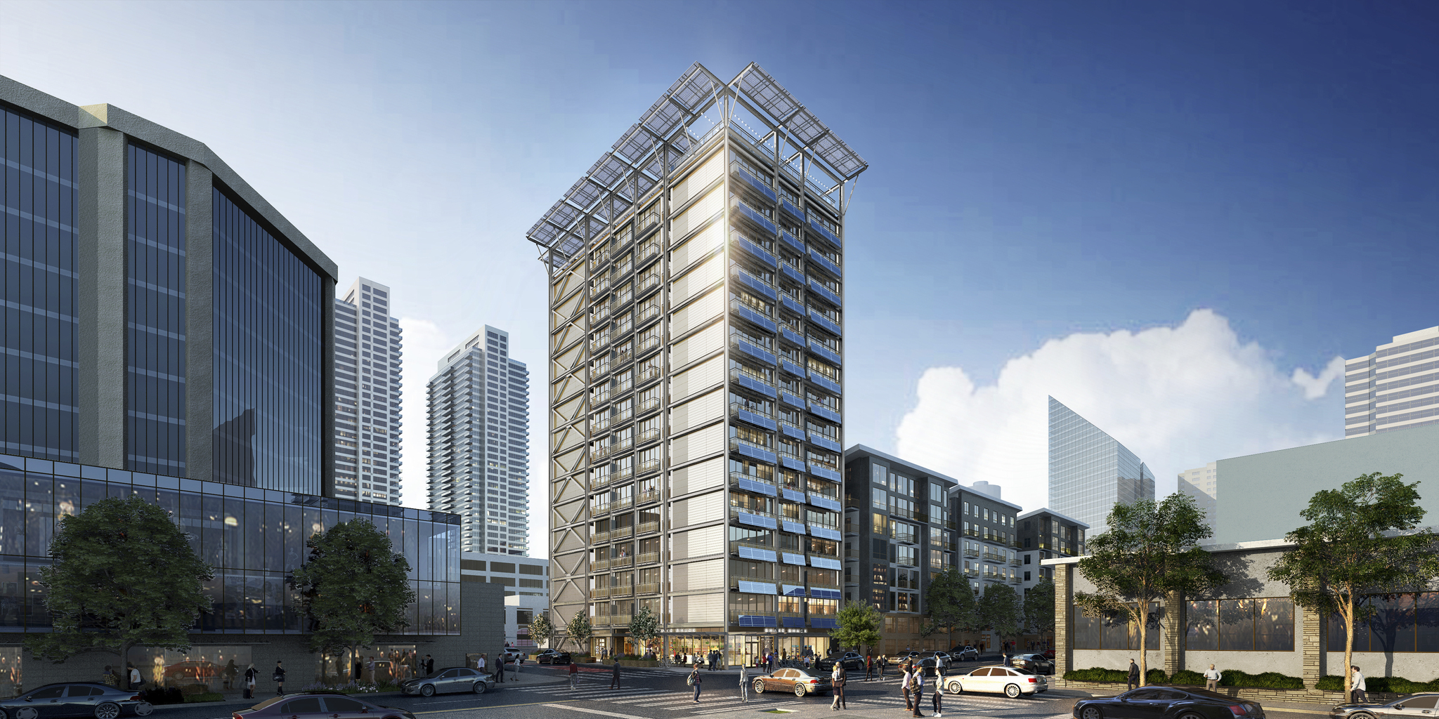 Seattle tech co. breaks ground on world's first 'net zero energy' high-rise apartment building