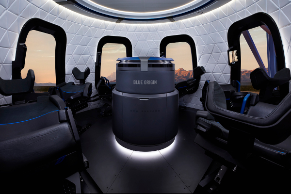 Jeff Bezos' Blue Origin auctions off seat on first human spaceflight for $28M – TechCrunch