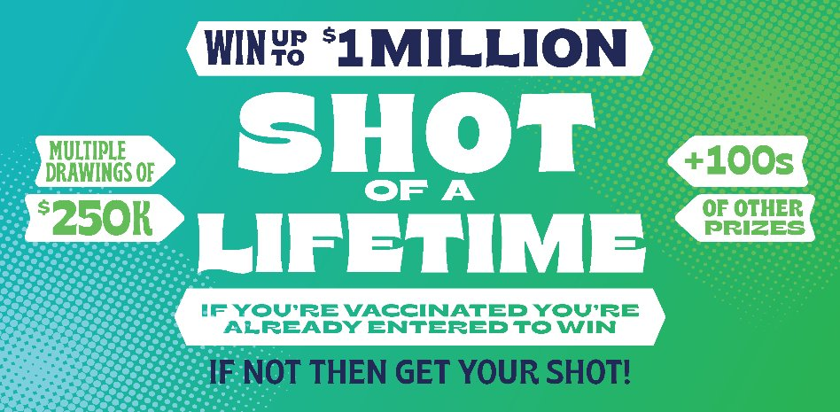 It's worth a shot: Washington dangles tech gadgets, $1M prize and more to encourage COVID vaccines