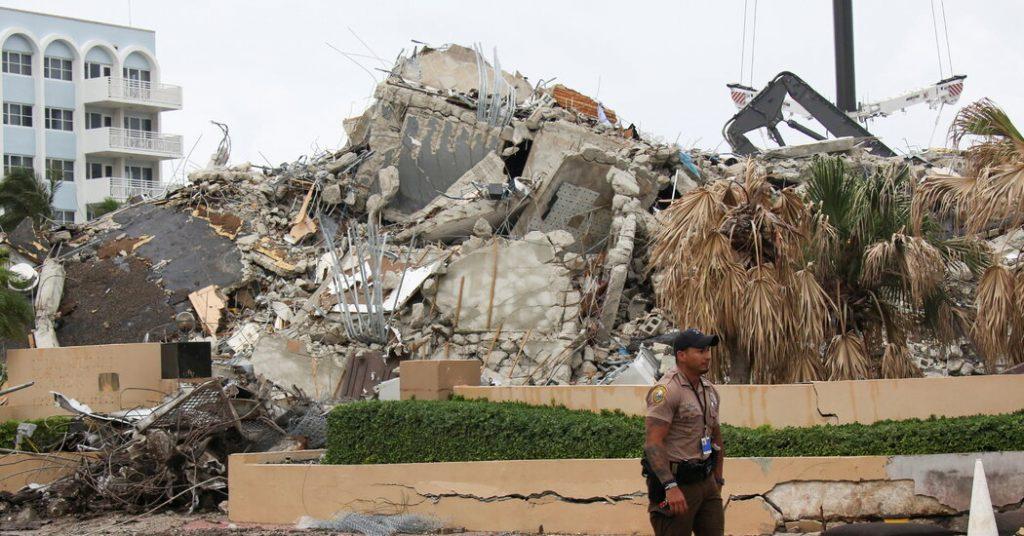 The Latest on Miami Condo Collapse: Live News Updates