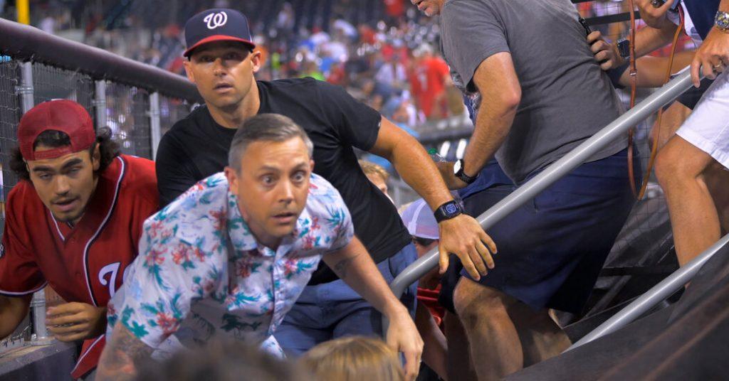 Shooting Outside Nationals Ballpark in Washington Halts Game