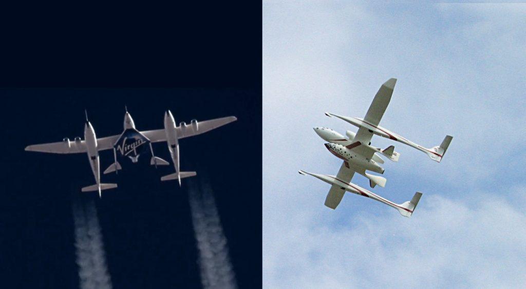 SpaceShipTwo / SpaceShipOne