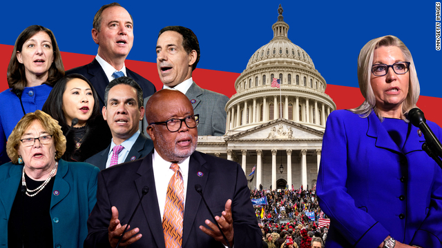 Here's who's on the House committee to investigate the January 6 insurrection