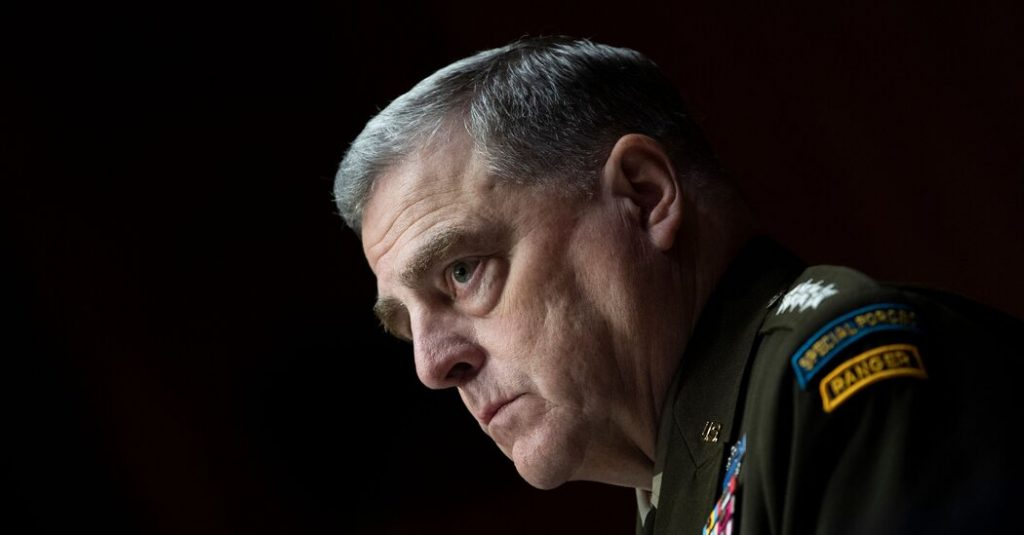 Opinion | What if January 6 Wasn't a Coup Attempt, General Milley?
