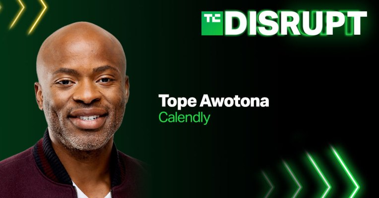 Calendly CEO Tope Awotona is joining us at Disrupt 2021 – TechCrunch