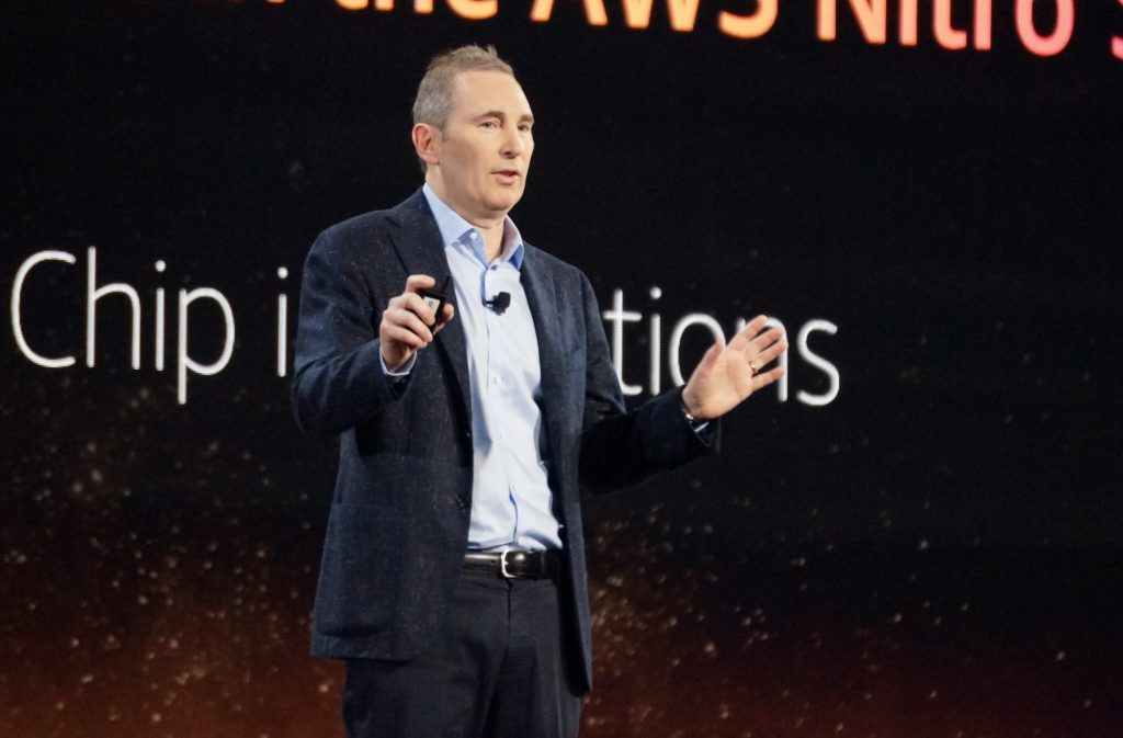 Andy Jassy will join Amazon's board of directors as he replaces Jeff Bezos as CEO of tech giant