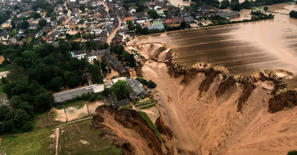 Flooding in Europe, in Pictures