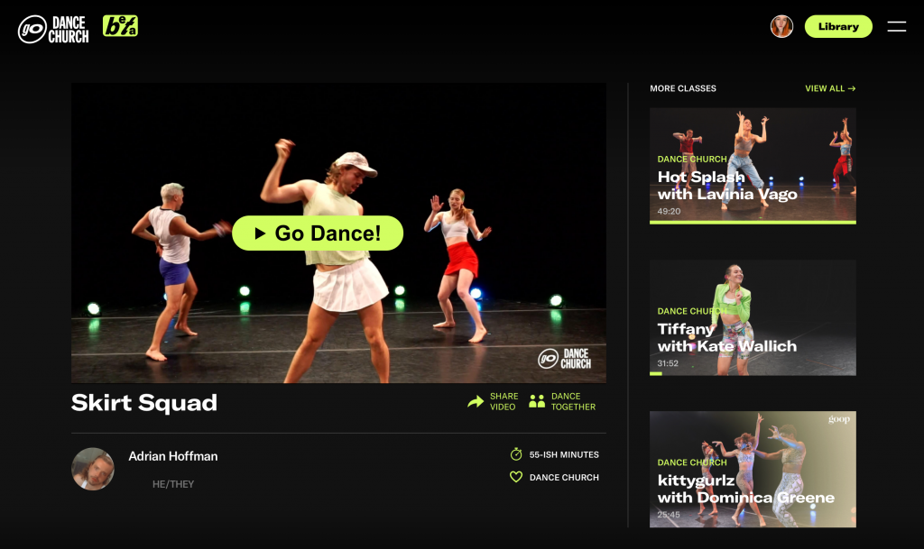 How Dance Church made a pandemic pivot and created a new online fitness subscription business