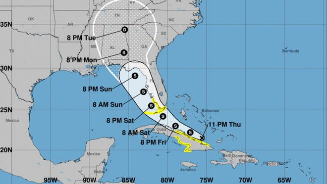 Florida prepares for Tropical Storm Fred and tropical depression Grace