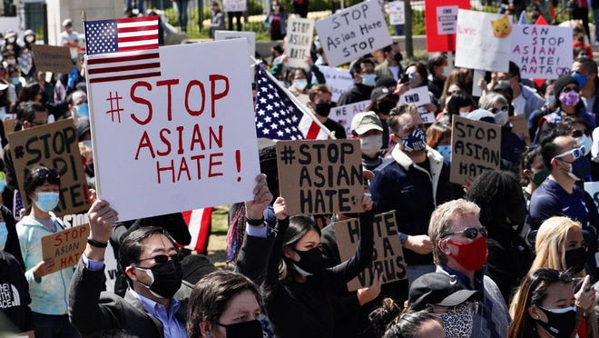 Asian American hate crimes not slowing down in 2021