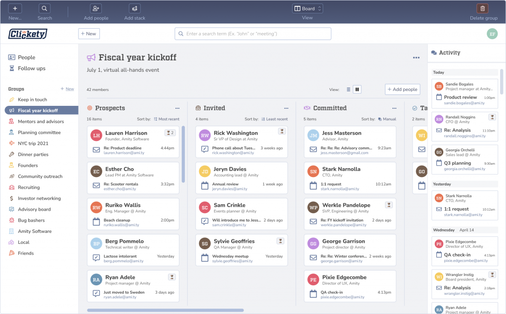 Clickety, a 'project management for people' tool from Puppet founder Luke Kanies, is shutting down
