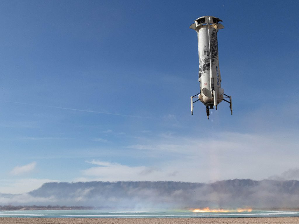 Blue Origin leaving humans behind as next mission will carry scientific and research payloads