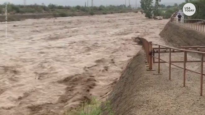 Monsoon rains lead to dangerous flooding in the southwest.