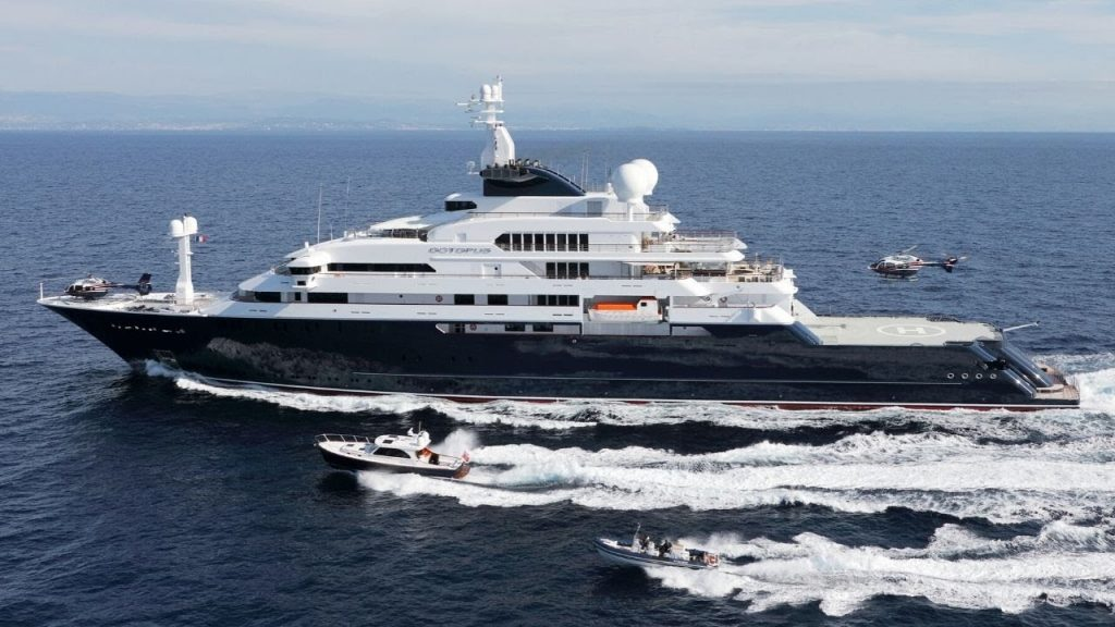Paul Allen superyacht Octopus finally sells after being listed for nearly $300M
