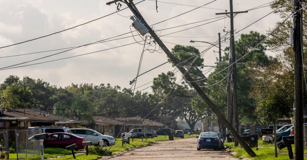 Ida Live Updates: The Latest on the Storm's Aftermath in Louisiana