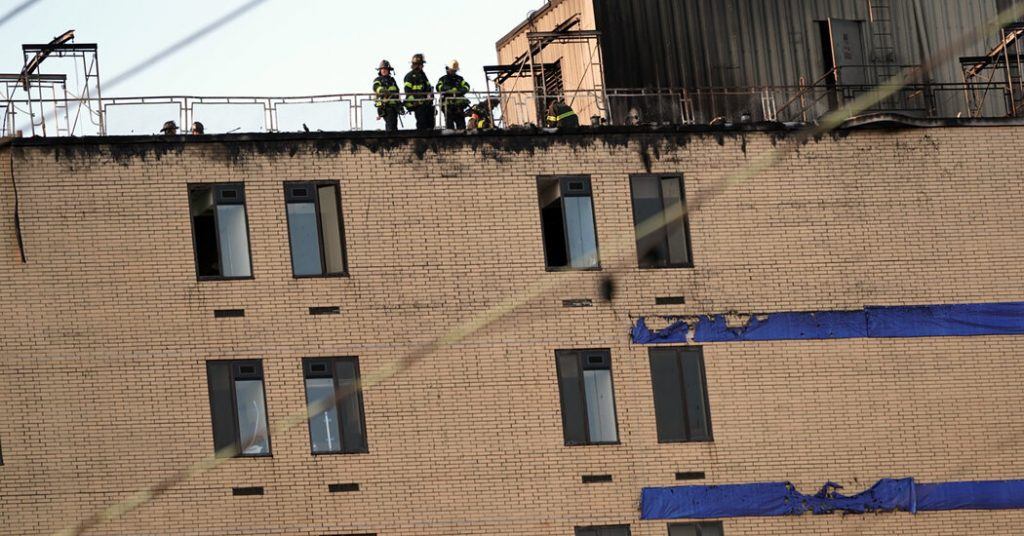 Two People Injured in Fire at a Queens Hospital