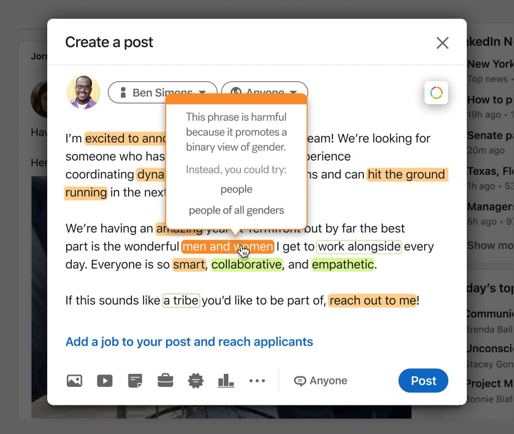 Textio brings inclusive writing guidance to LinkedIn, and Seattle startup bounces back after pandemic